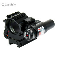 airsoft guns laser - Holographic Tactical Red Green Reticles Reflex Dot Scope Laser Sight Combo Airsoft Gun Hunting Chasse Caza
