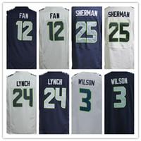 pink jersey - Sale Seattle FAN Doug Baldwin Richard Sherman Russell Wilson Elite Football Seahawks Jerseys Can Mix