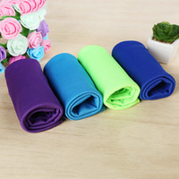 bath fever - Creative Summer Cycling Fitness Cold Towel Magic Cooling Cold Fever Towel Outdoor Sports Fast Dry Ice Cool Swimming Towels