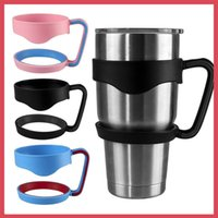 Wholesale Handle for oz oz Yeti Coolers Rambler Tumbler Cups Handle Rtic Sic Cup Travel Drinkware Holder With Colors
