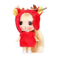 Muñecas lindas España-Confundido Ddung muñeca de juguete muñecas lindas para los bebés Dibujos animados de dibujos animados Muñecas lindas chica de cumpleaños Regalos de Navidad
