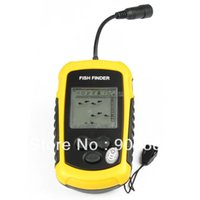 Wholesale HT Meter Portable Sonar LCD Fish Depth Finder Alarm M AP Fish Finder