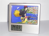 alarms delivery - New Kiki s Delivery Service Creative Digital Alarm Clock Multi function Desk Clock Calendar Pen Holder Photo Frame Alarm Clock