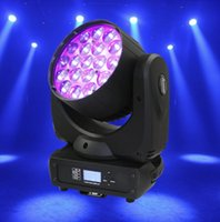Cheap Led Moving Head light Beam Wash Zoom with 19pcs RGBW quad color 4in1 LED Pro Stage Lighting For DJ Disco Club