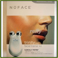 Wholesale Nuface Trinity Pro Facial Toning Kit Big Package face massager Anti Aging Skin Care Treament Device VS Smart Profile PMD Pro