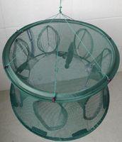 net fishing equipment - Fishing Cast Net Fishing Net Sea Fishing Tackle Fishing Equipment Automatic fish cage net cage fishnet shrimp trap to cage Fishi