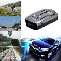 Wholesale 2016 New arrival V9 Degrees Band Black Scanning LED Radar Detector Laser Car Speed Testing System