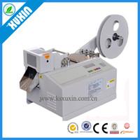 Wholesale automatic belt cutter X C automatic plastic tape dispenser PCV or PU tape or zipper cutting machine cost