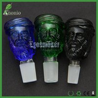 avatar heads - Heady Glass Bongs Bowls Thick Arabs Avatar Head Glass Smoking Bowls mm or mm Male Joint Colorful Glass Bowl Smoking Accessories