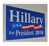 Wholesale 90 cm Hillary flag x5 Foot US Presidential Election Flag Hillary for President American Flag With Brass Grommets Freel Shipping Dhgate