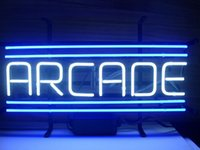 arcade sign - Brand New ARCADE Real Glass Neon Sign Beer light
