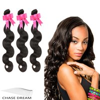 Wholesale CHASE DREAM Human Hair Extensions Brazilian Body Wave Virgin Hair Grade A Unprocessed Malaysian Indian Peruvian Human Hair Weave Bundles