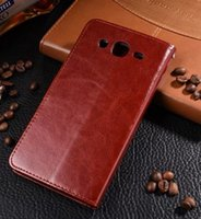 al por mayor caja de cuero i9152-Para la caja de cuero delgada linda linda colorida de la cubierta de la cubierta del clip del caso de Samsung I9152 para la galaxia de Samsung 5.8 I9152 I9150