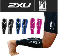 basketball training aids - 2XU Basketball Jogging cycling Compression Training Leg Sleeves Calf Guard True Graduated Boosts Circulation Aids Faster Recovery