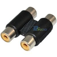 av joiner - 2 RCA AV F to F Video Cables Joiner Coupler Component Adapter