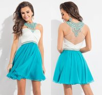 Cheap Short Teal Homecoming Dresses | Free Shipping Short Teal ...
