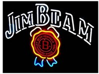 beam formulas - Brand New Jim Beam Distillery Formula Since Real Glass Neon Sign Beer light quot X24 quot