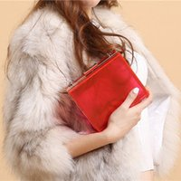 Wholesale Acrylic Hand Bag Shoulder Messenger Bag tide small dinner dress metal box package and high end package