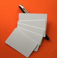 Wholesale 3000pcs nfc k S50 Blank card Thin pvc Card RFID MHz ISO14443A IC Smart Card Fudan Chips Waterproof