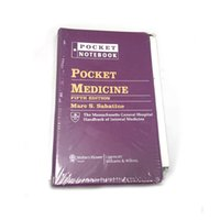 pocket books - 2016 New Arrival Book Pocket Medicine Fifth Edition by Marc S Sabatine via DHL
