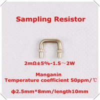 ammeter circuits - Sampling Resistor mR mm A ammeter for Integrated Circuits