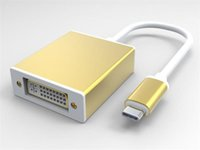 apple repeater - USB Type c to Adapter DVI F External Equipment Repeater Connecter Cable for Apple Macbook Air Gold