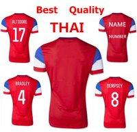 world cup soccer t-shirts - Top thai quality men s usa soccer jersey america away shirt world cup usa jerseys t shirt