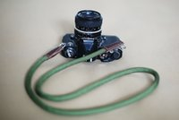 Wholesale Green Climbing rope mm Mini handmade Camera neck strap