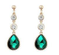 austrian crystal chandeliers - 2016 new popular jewelry Austrian crystal earrings multicolor pendant jewelry earrings