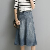 Cheap Plus Size Jean Skirts | Free Shipping Plus Size Jean Skirts