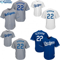 angeles dodgers logo - Youth and Men Los Angeles Dodgers Jerseys Clayton Kershaw cool base Baseball Jersey Accept Mixed Orders Embroidery Logos Size