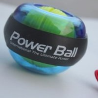 Wholesale New Power Wrists Force Ball Gyroscope LED Lighting Wrist Strengthener Power Force Ball Arm Exercise Power Handball Exercise Ball