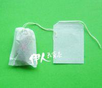5x7cm100 una bolsa pequeña bolsa de té línea de bombeo té café leche té hoja polvo paquete de filtración bolsa de té vacío