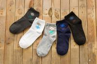 best news - 2016 news independent packing men diamond socks Leisure men s socks best sell cotton