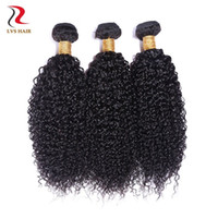 Wholesale Brazilian Human Hair Extensions Kinky Curly Hair Weave High Grade No Tangle No Shedding Natural Color