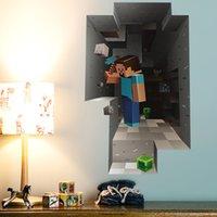 american classic sofa - Children Cartoon DIY Wallpaper Kids Rooms Sofa Bedroom Living room decoration Art Decals Vinyl D Wall Stickers home decor