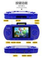 Wholesale 16 bit game console color handheld game player for kids with bulit in games