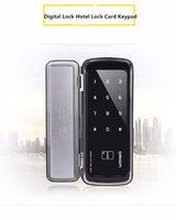 digital door lock - Security digital Keyless intelligent touch screen smart biometric fingerprint door lock