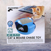 Wholesale Creative Cat Mouse Chase Toy Funny Motion Pet Kitten Cat Toys Catch The Mouse Interactive Cat Training Play Game Toys Christmas Gift