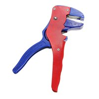 Wholesale 1PC Automatic Adjustable Cable Wire Stripper Crimper Cutter Stripping Tool Self Adjusting Multifunctional Functional Hand Tool