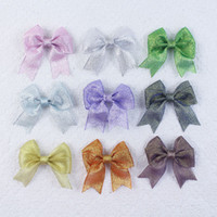 baby butterfly headbands - inch Baby Girl gift grosgrain butterfly flat knot shining Hair accessories bows headbands bobbles clips Y