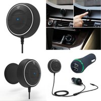 Wholesale Car Wireless Bluetooth V4 Music Receiver Adapter with Handsfree mm AUX Speaker for Trunk Bluetooth Car Kit
