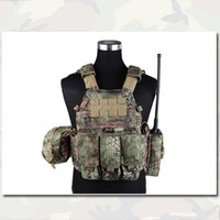 Wholesale Plate Carrier Vest with Pouches Airsoft EMERSONGEAR Painball Army Combat Gear Tactical LBT6094A Style Vest