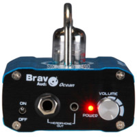 Wholesale Bravo Audio Ocean Mini Valve Class A AU7 Tube Headphone Amplifier amplifier cover valve pre amplifier