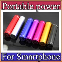 banks supplies - Fashionable aluminum Lipstick mAh Power Bank Portable Backup External Battery USB Mobile charger Mobile Power Supply A YD