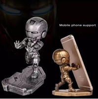 abs dashboard - Universal super Retro cool Iron Man Dashboard Mount Holder For Iphone Samsung Stand Holder Support For Mini Tablets Mobile Phone Support
