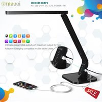 Wholesale office table lampDimmable Eye Care LED Desk Lamp15W Levels And Kind of Lighting lamp table led with DC5V2A USB Charging Port moooi cc