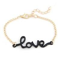 bangle bracelet stores - JU Fairy Store Hot Selling PC Fashion Women Love Handmade Alloy Charm Jewelry Bracelet Wristband Bangle drop shipping