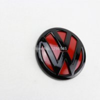 Wholesale Gloss Black Red Rear Trunk Lid VW Emblem Badge Replacement fit for VW Jetta MK6 Emblems