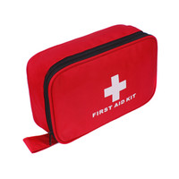 Wholesale hot selling first aid kit bag empty bag car fisrt kit customized packing bag for first aid